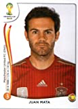 2014 Panini World Cup Soccer Sticker # 123 Juan Mata Team Spain