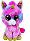 Ty Fantasia the Multi Color Unicorn Beanie Boos Stuffed Animal Plush Toy