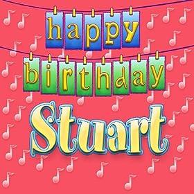 Amazon.com: Happy Birthday Stuart (Personalized): Ingrid DuMosch: MP3