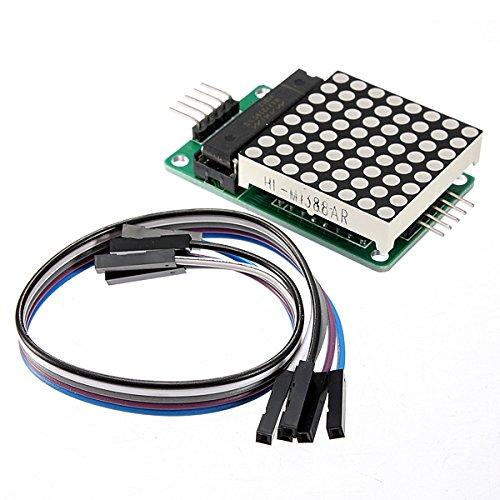Kingso®Max7219 Dot Matrix Module Mcu Led Control Module Kit For Arduino