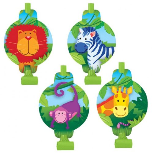 Jungle Animals Blowouts / Favors (8ct)