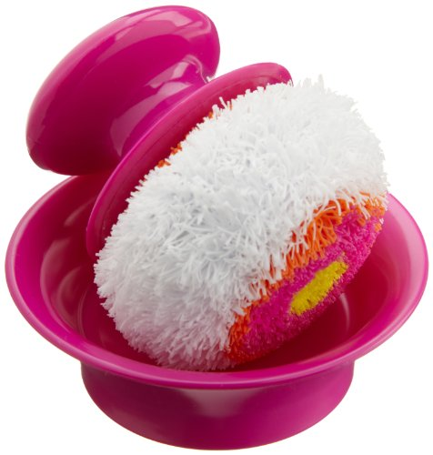 Casabella Mini Dish Scrubber with Holder
