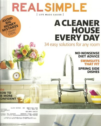 Real Simple Magazine May 2012