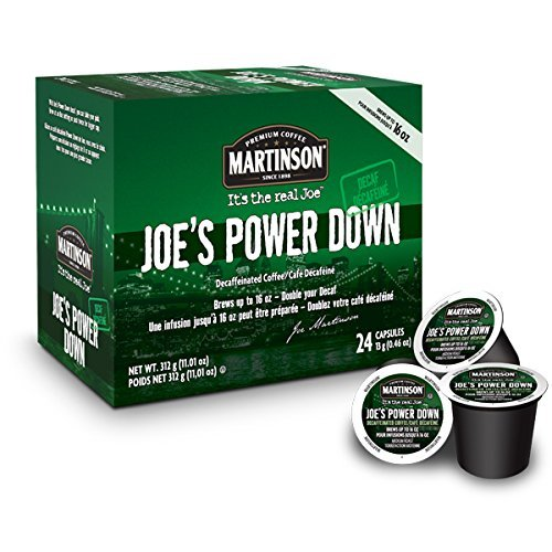 Martinson Decaf Coffee, Power Down, 24 Single Serve RealCups (Martinson Coffee Can compare prices)