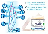 Royal Dead Sea Best Natural Arthritis Pain Relief Cream [2.02oz] Therapy for Feet, Hand, Neck, Back, Shoulder, Hand, Knee, Foot, Toes , Joint, Inflammation Treatment . Pure Dead Sea Minerals and Unique Plants Extracts. Arthritis Cream