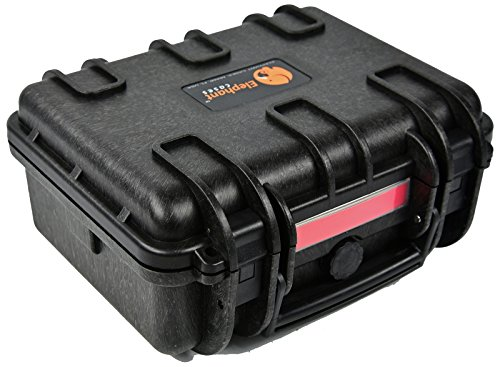 Elephant E150 Case with Foam for Camera, Video, Guns, Test and Metering Equipment Waterproof Hard Plastic Case