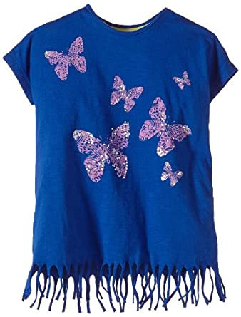 LTB Jeans Girls 28027 Funtello T/S, Blue (Electric Blue), 6 Years