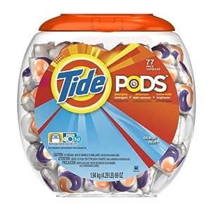 Tide Pods Detergent, Ocean Mist, 69-Ounce, 77 Count