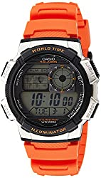 Casio Youth Digital Grey Dial Mens Watch - AE-1000W-4BVDF(D121)