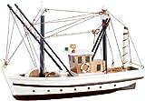 """Playtastic Schiff-Bausatz """"Fischkutter"""" aus Holz"""