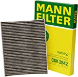 Mann Filter CUK 2842 Cabin Filter With Activated Charcoal for select Audi  Porsche  Volkswagen models