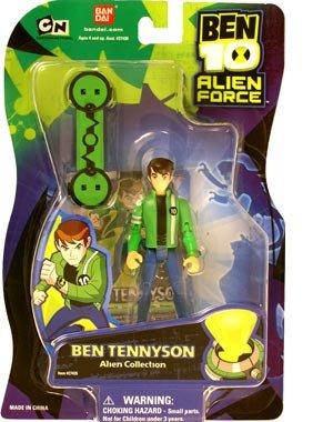 Ben 10 Tennyson Alien Force Action Figure Alien Collection (Ben 10 Alien Force Figure compare prices)