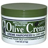 Hollywood Beauty Olive Cream Hairdress, 7.5 Ounce
