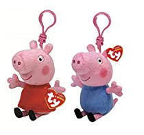 Ty Beanie Babies Peppa and George The Pig 3