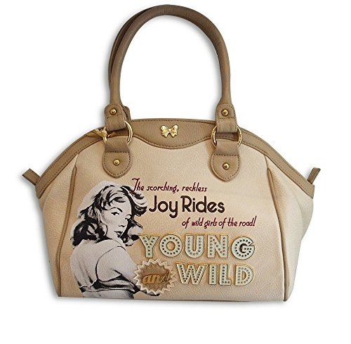 Borsa Donna Fix Design Young & Wild Beige