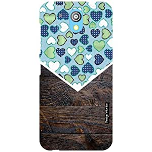Design Worlds HTC Desire 526G Plus Back Cover - Wood Designer Case and Covers