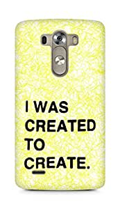 AMEZ i was created to create Back Cover For LG G3