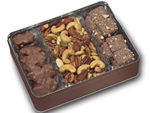 Toffee, Tads and Deluxe Mixed Nuts Assortment Gift Tin