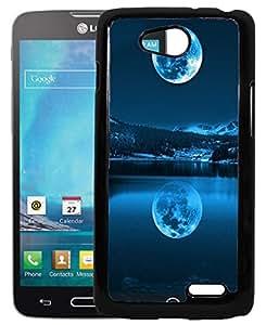 FCS Printed 2D Designer Hard Back Case For LG L90 D405 With Universal Mobile Stand