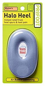 Profoot Halo Heel Cushions, Women's Fits All, 1 Pair
