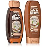 Garnier Whole Blends Coconut Cocoa Butter Shampoo and Conditioner 12 ounces each (Tamaño: 2pc)