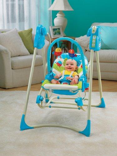 Fisher-Price modelo P6946 hamaca bebe automatica pajaritos - 3
