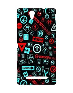 Crackndeal Back Cover for Sony Xperia C3