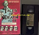 FACES OF DEATH Part II 2 - First Printing 1981 - Gordon Video MP3063 VHS - Plastic Case Mega Rare Original