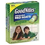 GoodNites Bed Mats, Disposable, 9 mats
