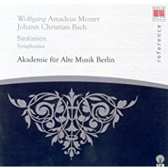 Wolfgang Amadeus Mozart: Symphonies Nos. 21 and 23 / Johann Christian Bach: Symphony in G minor, Op. 6, No. 6 / Grand Overtures, Op. 18 (Academy for Ancient Music Berlin)