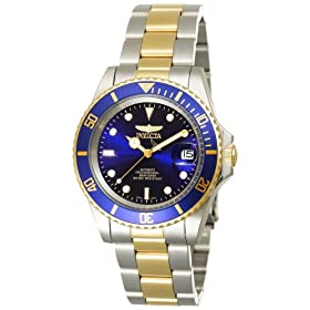 Men's Automatic Pro Diver G3 stainless Steel and 23kt goldplated