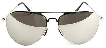 Fluid Herren Clubmaster Sonnenbrille Schwarz