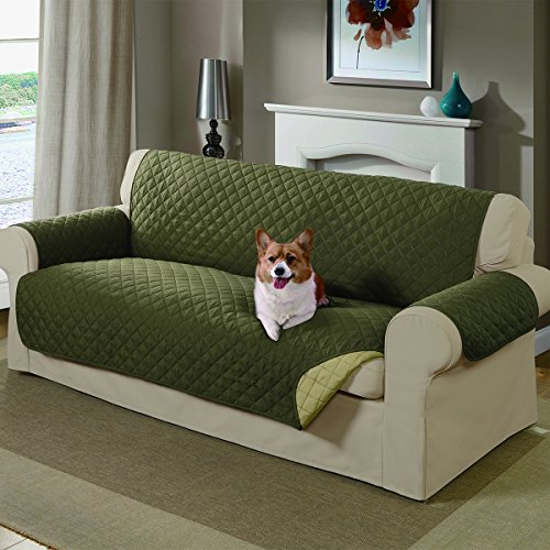 Mason Reversible Sofa Cover, Sage (Dog Couch Cover compare prices)