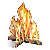 Beistle 57322 3D Campfire Centerpiece...