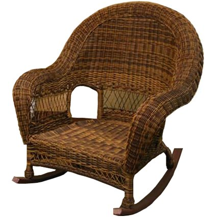 Rocking Chair Wicker front-923799