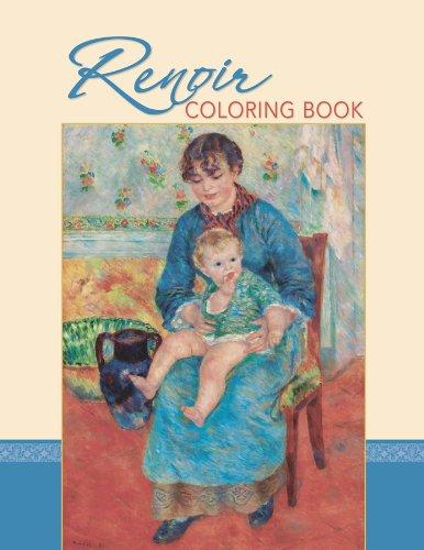 Renoir Coloring Book [Pomegranate] (Tapa Blanda)