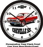 1967 CHEVROLET CHEVELLE SS WALL CLOCK-FREE USA SHIP-NEW!