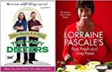 Lose Weight easily with The Hairy Dieters and Lorraine Pascale (The Hairy Dieters: How to Love Food and Lose Weight & Lorraine Pascale's Fast, Fresh and Easy Food: RRP £34.99)