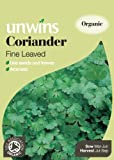 Unwins Organic Fine-Leaved Coriander Herb Seeds