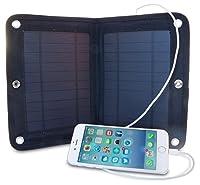 Portable 6 Watt USB Solar Charger, Folda...
