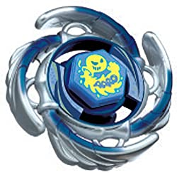 Takaratomy Beyblades BB72 Japanese Metal Fusion 105F Premium Returns Booster Aquario Battle Top