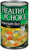 51h55R67ceL. SL160  Healthy Choice Chicken with Rice Soup, 15 Ounce Cans (Pack of 12)