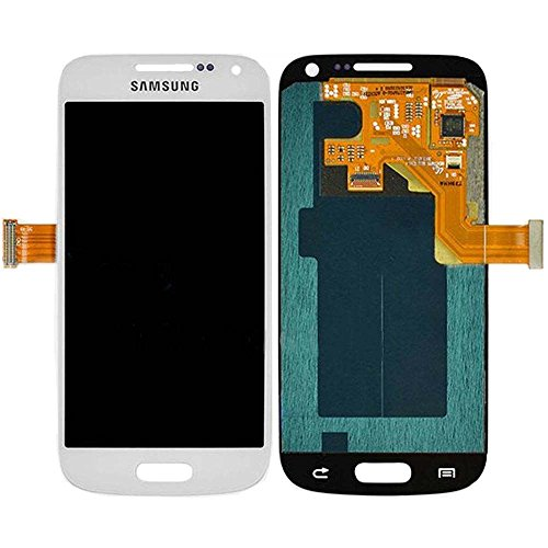 New Oem Black/Pebble Blue/White Full Front Housing Lcds Display + Touch Screen Glass Digitizer Assembly Replacement Repair Part For Samsung Galaxy S4 Mini I9190 I9192 I9195, Dhl Shipping White