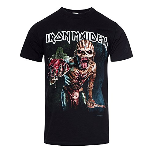 T Shirt Souls Tour 2016 Iron Maiden (Nero) - XX-Large