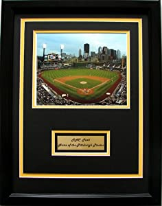 CGI Sports Memories Pittsburgh Pirates PNC Park Photo with Double Mat by CGI Sports Memories