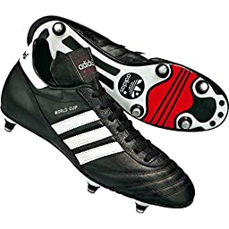 adidas Performance Men\'s World Cup Soccer Cleat,Black/White,11 M US