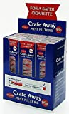 CRAFE AWAY REGULAR MINI FILTERS CIGARETTE 10 (12 IN 1 PACK) - 12 IN 1