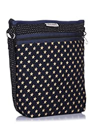 Home Heart Women's Hipster Sling Bag (Navy Star)