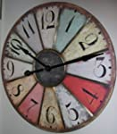 "Large 29"" Vintage Style Paris Wall Clock"