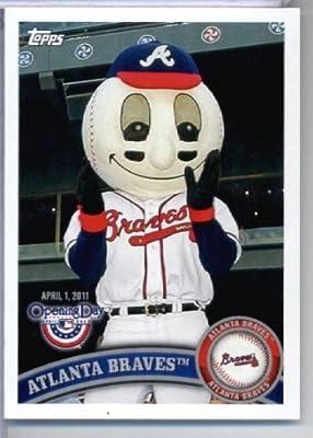 2011 Topps Opening Day Mascots Baseball Card #M2 Atlanta Braves - Atlanta Braves - MLB Trading Card